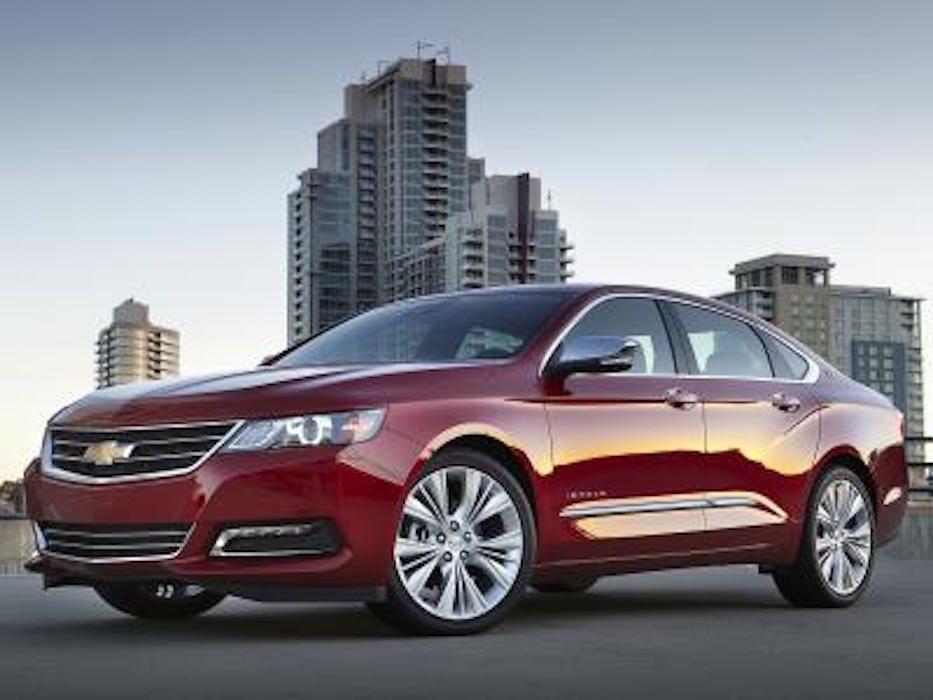 Chevrolet Impala 2016 : style et confort