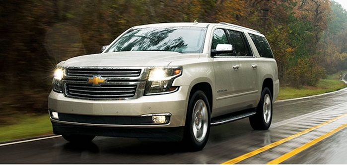 Chevrolet Suburban 2016 : robustesse et caractéristiques de sécurité