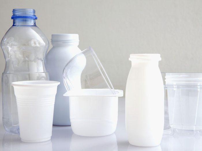 3. Évitez l'exposition au bisphénol A et aux autres produits chimiques domestiques