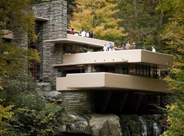 La Maison sur la cascade (Fallingwater) - Pittsburgh, Pennsylvanie