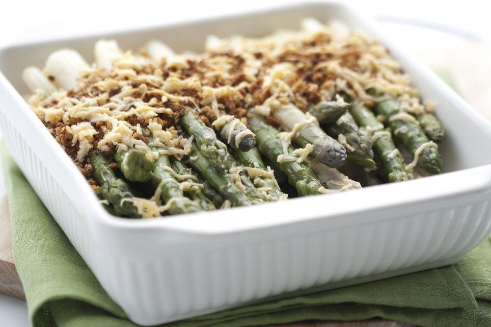 Une recette délicieuse pour le brunch de Pâques: le feuilleté d'asperges