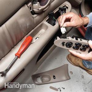 Réparer facilement une vitre électrique