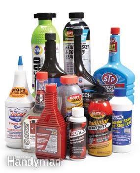 Additifs fréquents pour carburant