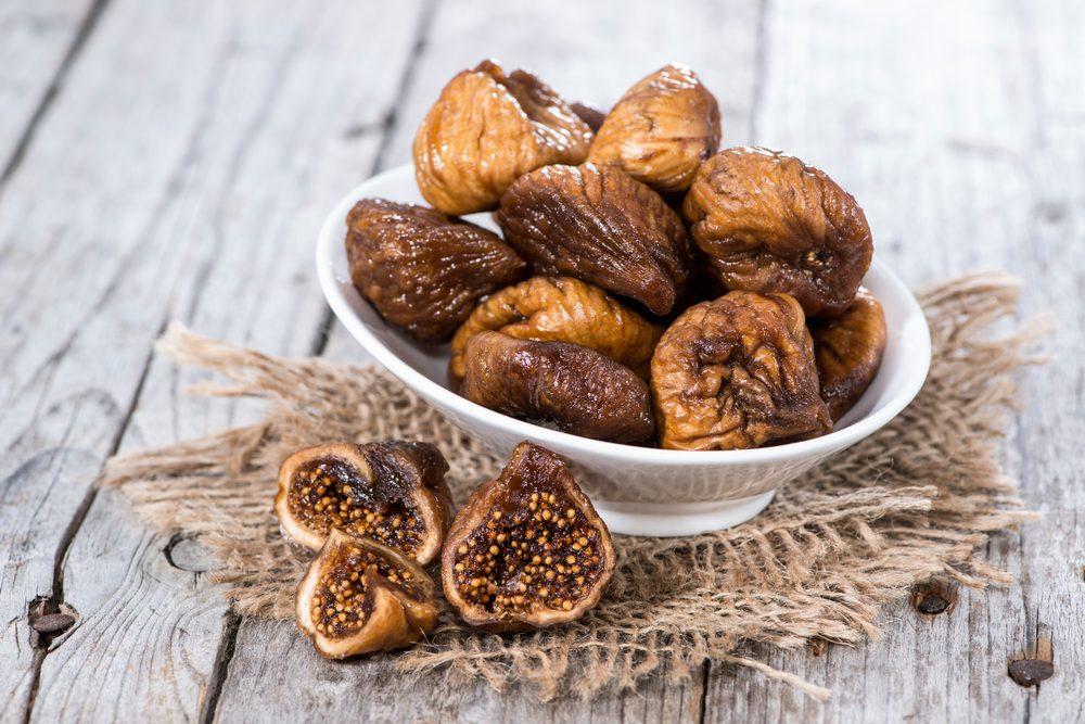 Source de protéines végétales : la figue séchée.