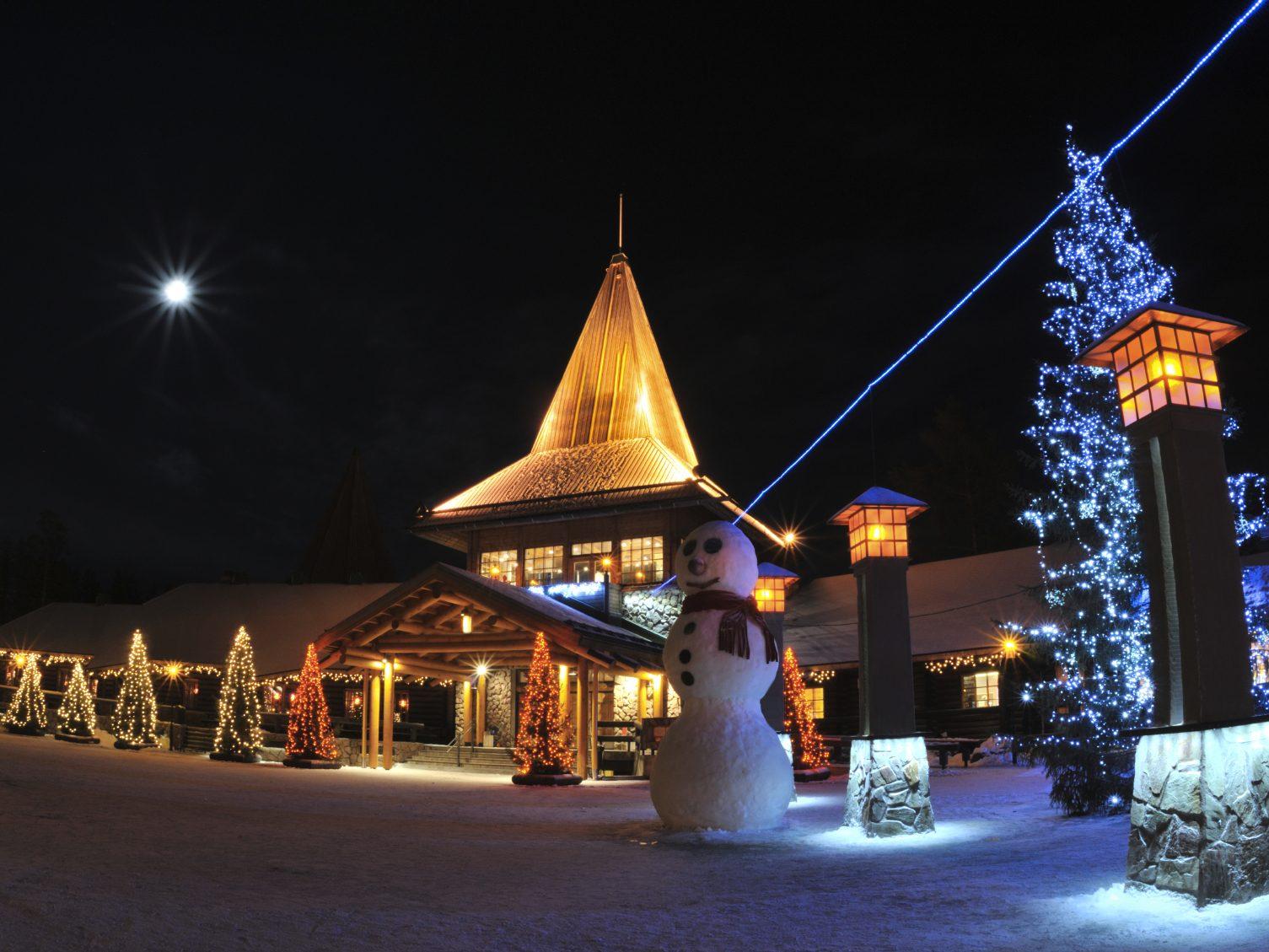 4. Rovaniemi, Finlande