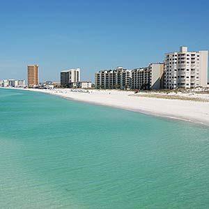 8. La plage de Panama City, Floride