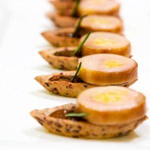 8. Foie gras au pain d'épices