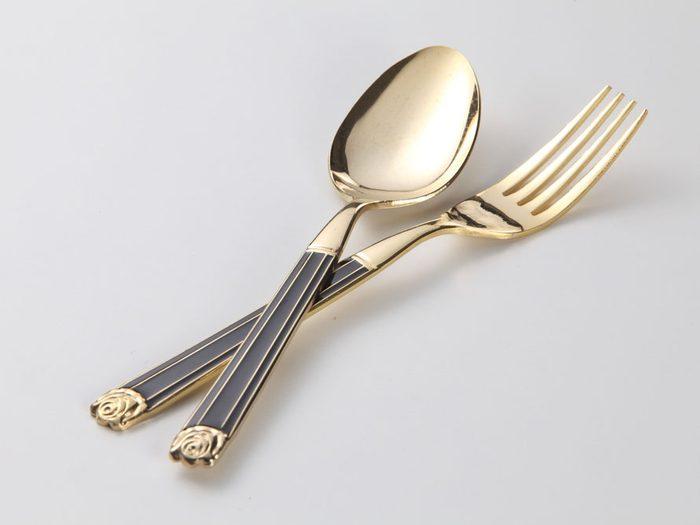 9. Fourchettes et cuillères personnelles