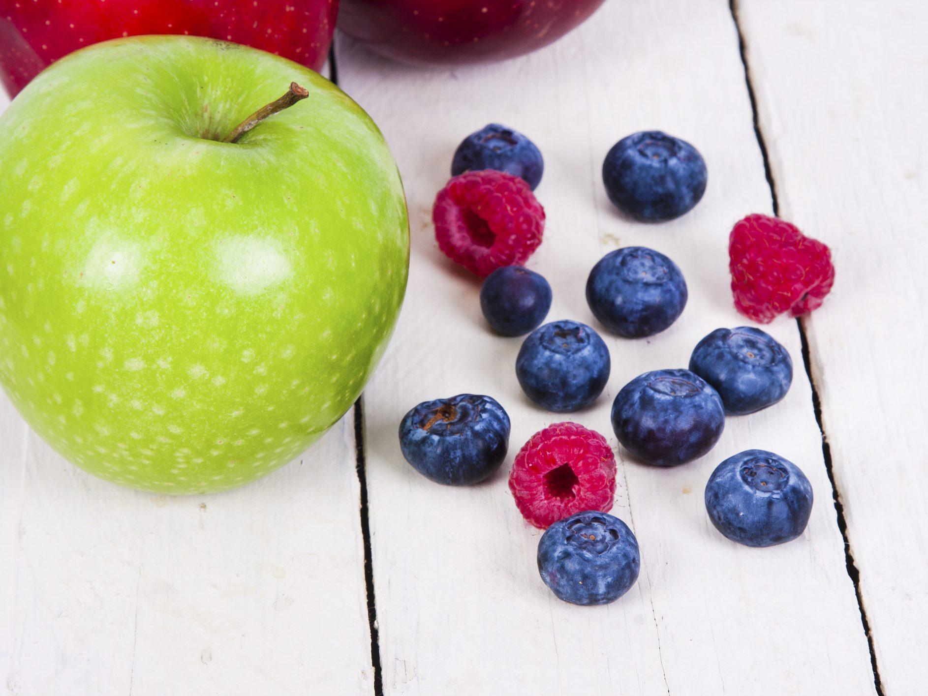 Fraicheur pomme et petits fruits