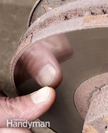 Photo 2: Vérifier l'état du rotor
