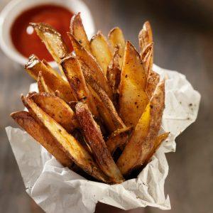 1. Faites vos frites