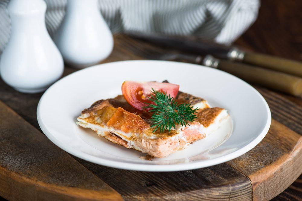 Déjeuner efficace pour maigrir: Frittata.