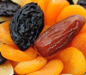 3. Pensez aux fruits déshydratés