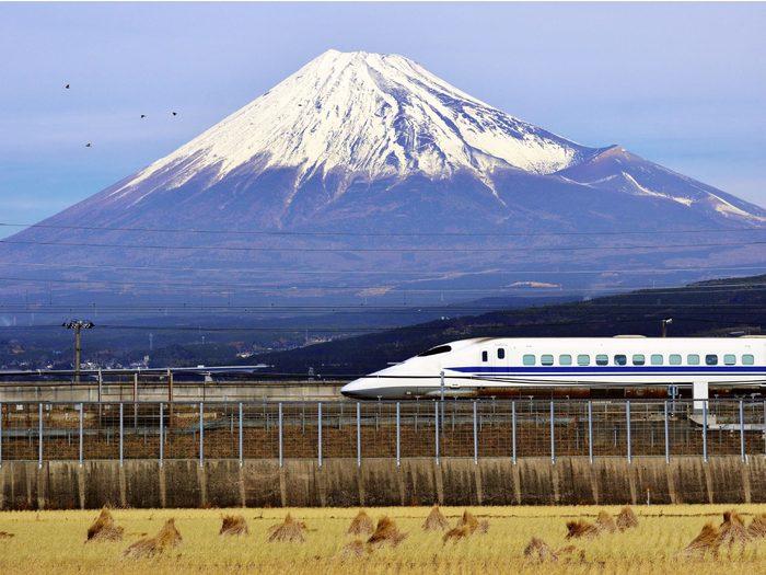 Prendre le train à grande vitesse
