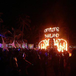 4. Full Moon Party (party de la Pleine Lune), Thaïlande