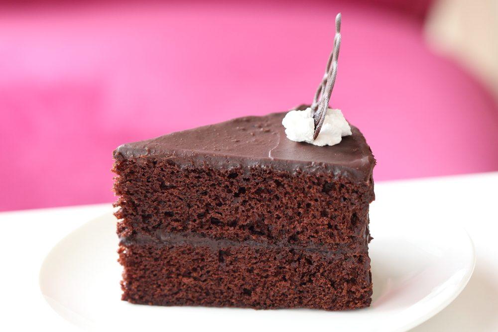 Le gâteau au chocolat fait de patate de l'Île-du-prince-Edouard