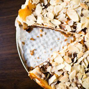 4.Gâteau au kaki et aux amandes