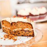 Gâteau aux carottes et son glaçage au fromage à la crème