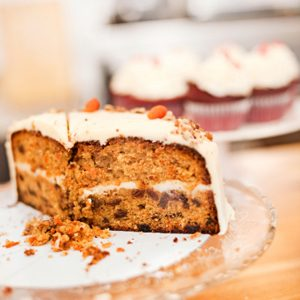 Gâteau aux carottes et au fromage à la crème
