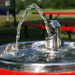 Distributeurs d'eau fraîche