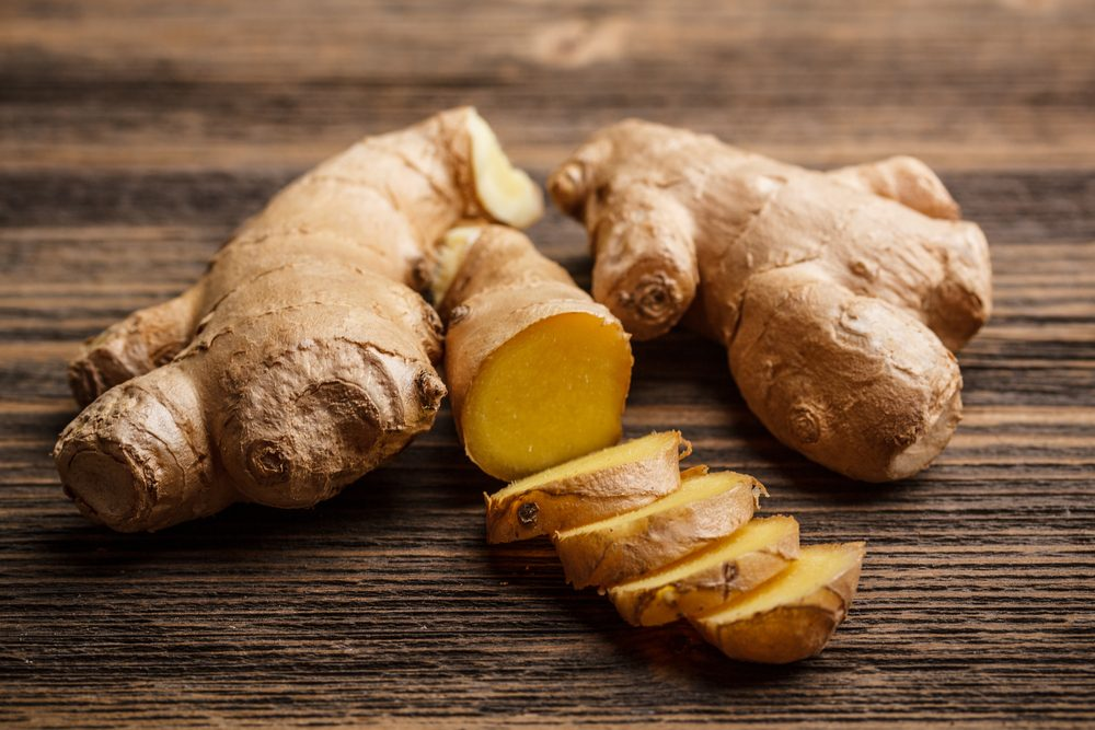 Ginger is a food that burns more calories