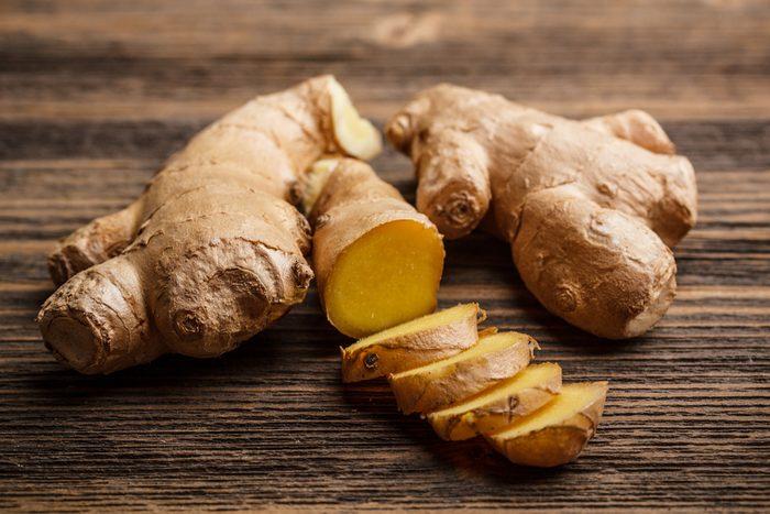 Le gingembre est un aliment qui permet de brûler plus de calories