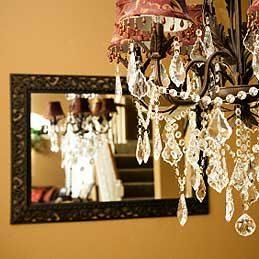 4. Dépoussiérer un lustre en cristal