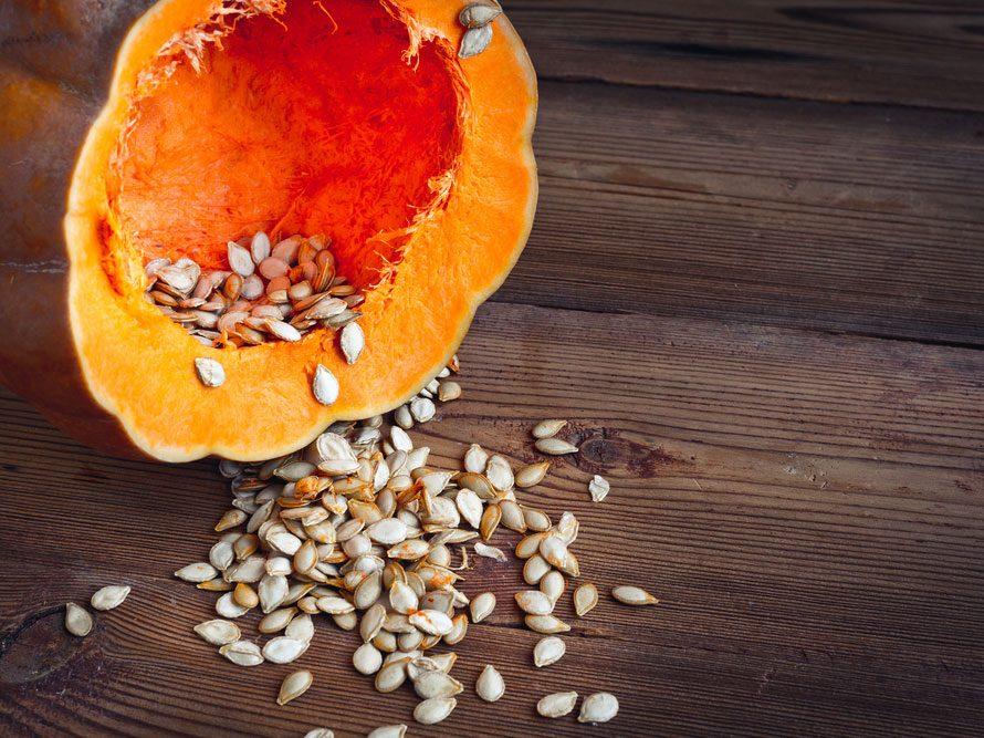 8. Les graines de citrouille sont un anti-inflammatoire naturel