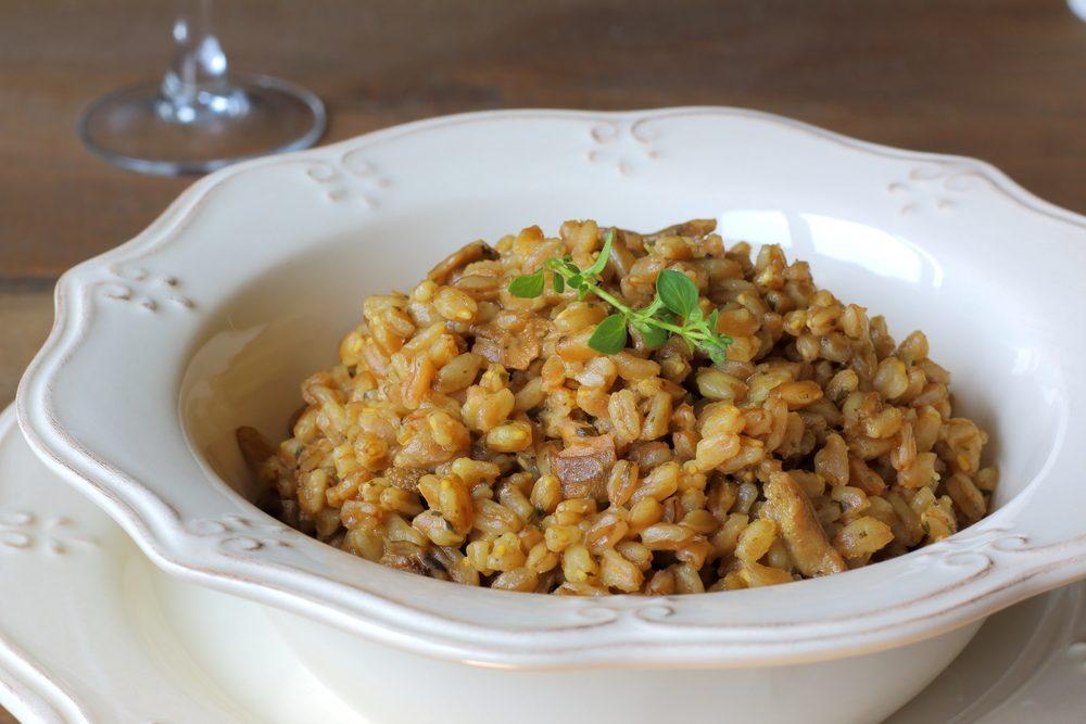 Le farro, un grain ancien nutritif riche en protéines et en fibres