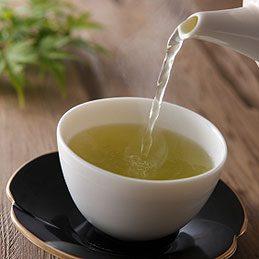 Et pourquoi pas du thé vert?