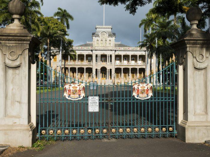 10. Le seul palais royal en Amérique