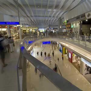3. L'aéroport international de Hong Kong, Chine