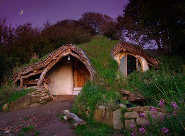 La maison du Hobbit - Pays de Galles, Royaume-Uni