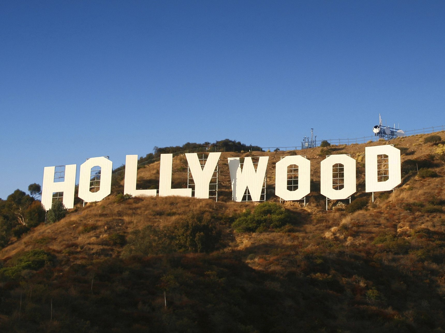 L'enseigne «Hollywood»