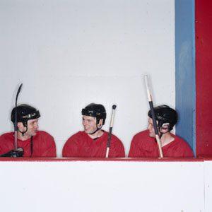 Le fan de sports d'équipe