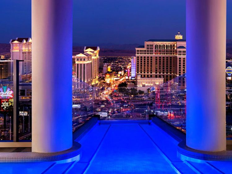 7. Le fastueux hôtel Palms, à Las Vegas