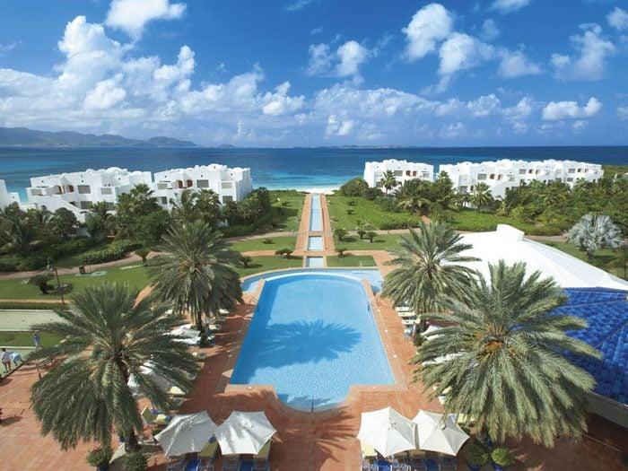 9. L'hôtel de luxe CuisinArt Golf Resort & Spa, à Anguilla