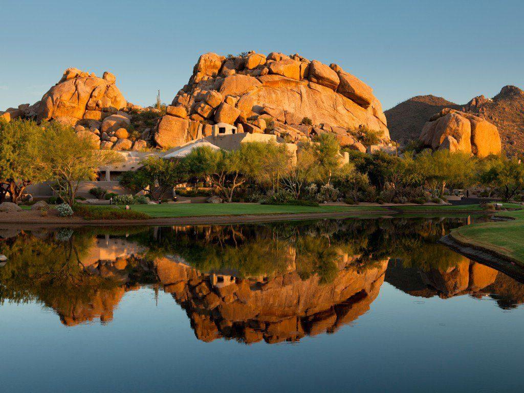 8. Le magnifique hôtel The Boulders, en Arizona