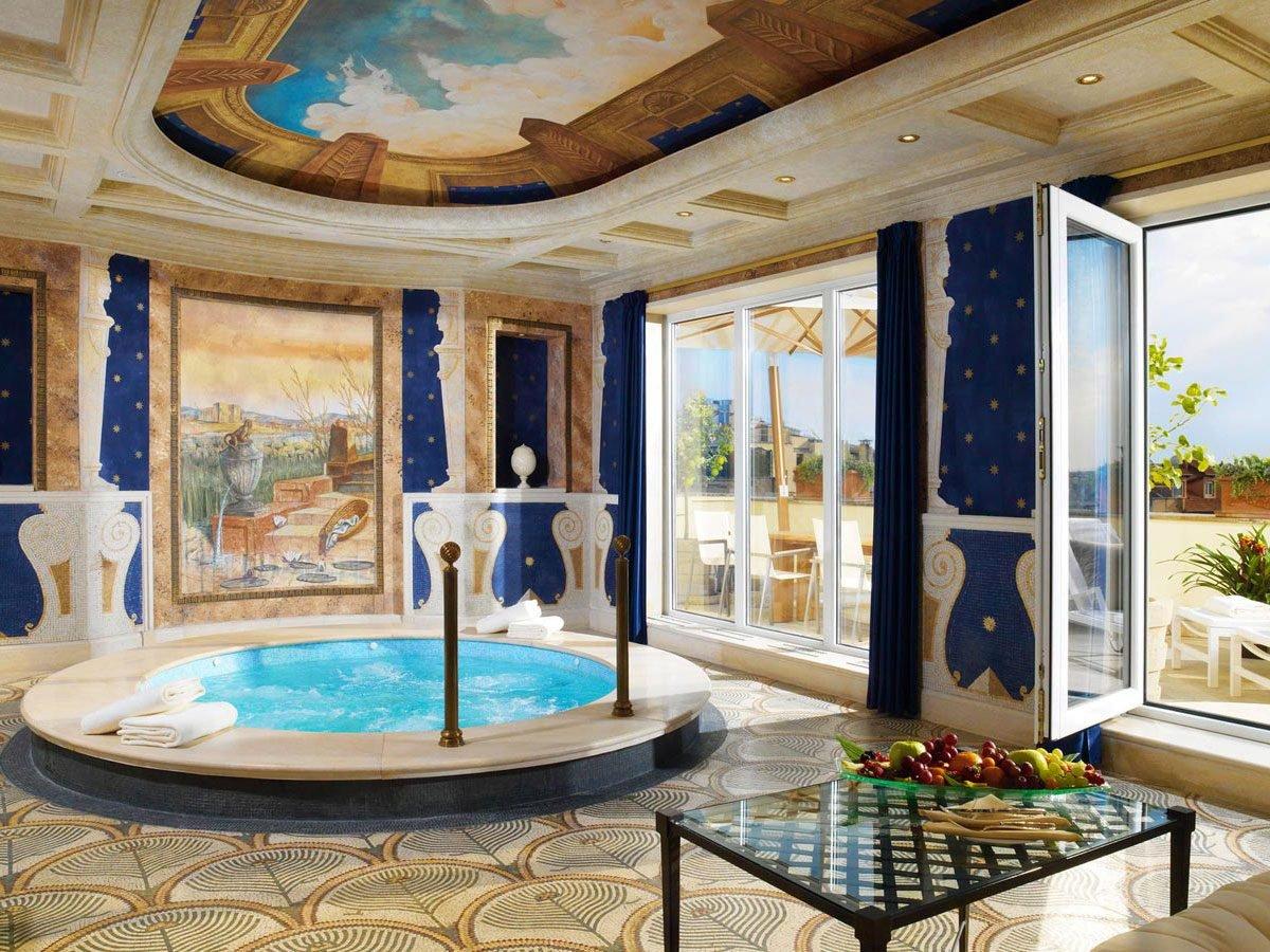 3. Le somptueux hôtel Westin Excelsior, à Rome