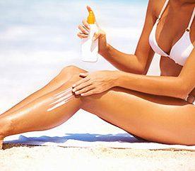 Mettez de la crème solaire