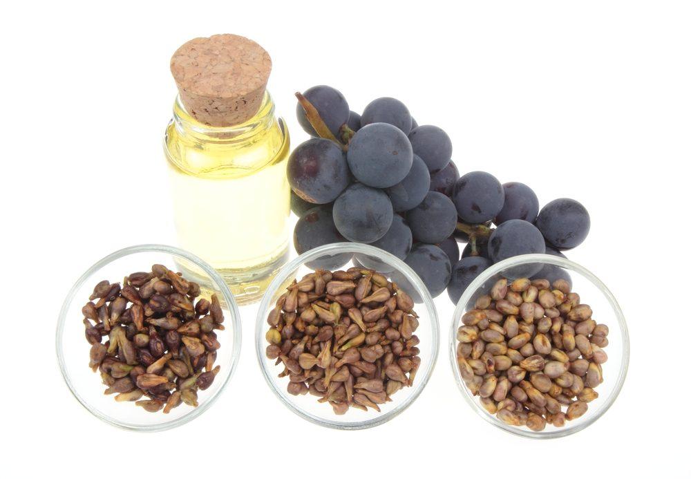 L'extrait de pépins de raisin est riche en antioxydants