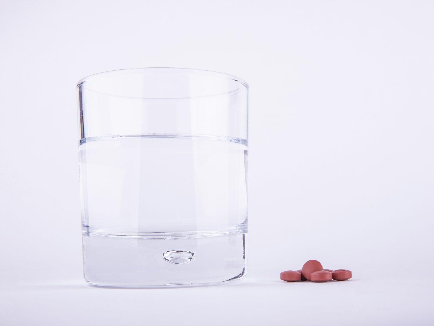 L'ibuprofène peut également soulager votre gueule de bois.