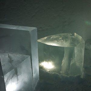 4. Hôtel de glace, cercle arctique