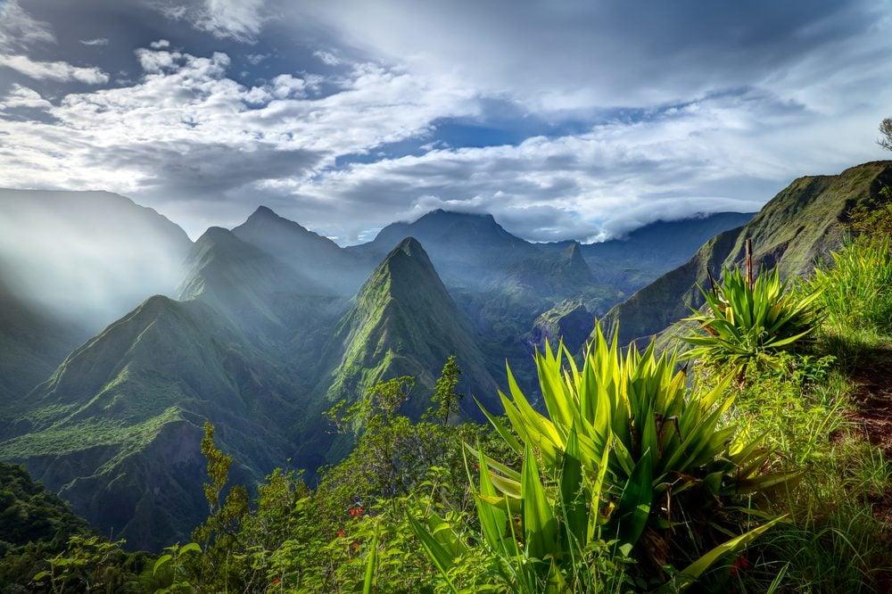 L'Île de la Réunion.