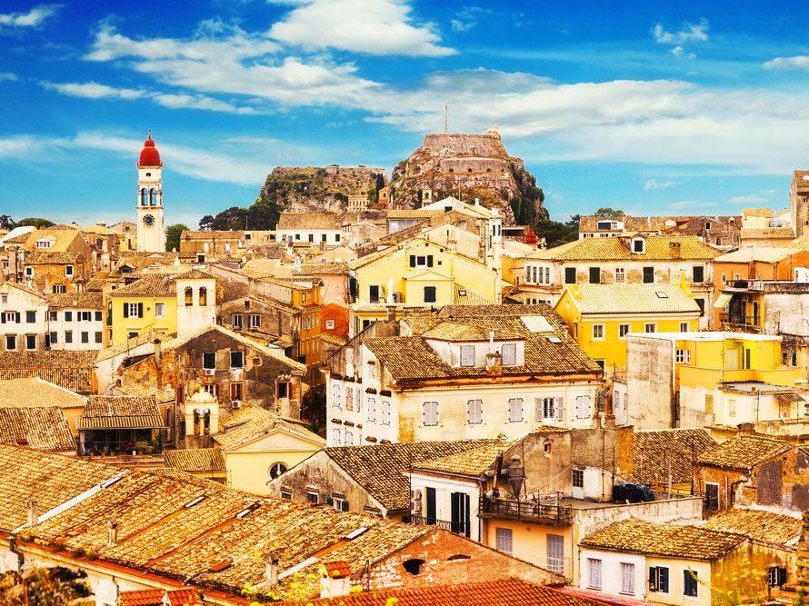 1. La vieille ville de Corfou