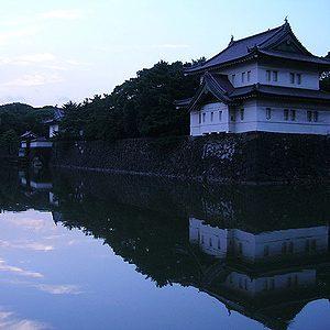 10. L'enceinte du Palais impérial