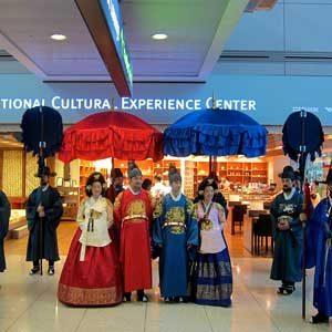 2. L'aéroport international d'Incheon, Corée du Sud