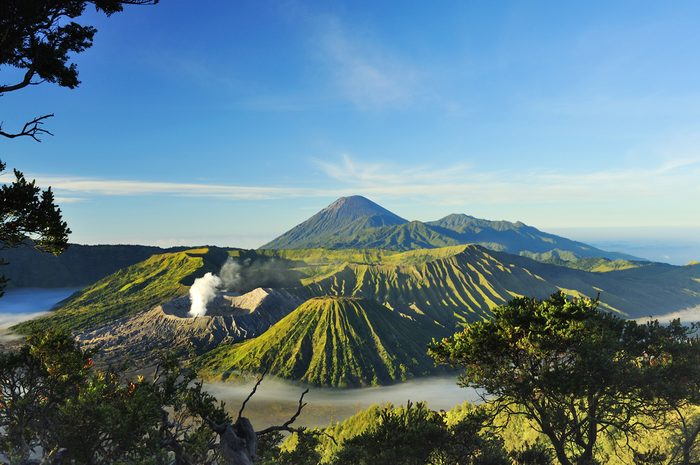 Indonésie.