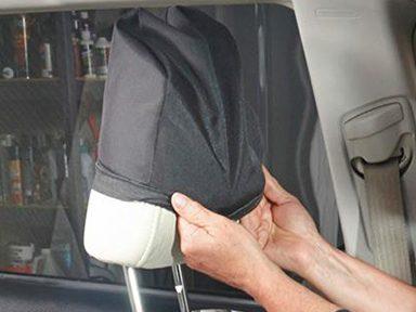 Installer les housses des repose-têtes de vos sièges d'auto