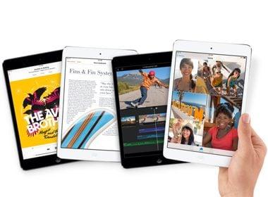 Apple iPad mini avec écran Retina
